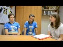 Dzień sportu - wywiad z Joanną Wagą i Sylwią Lisewską
