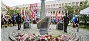 Poczet IV LO na 81. rocznicy utworzenia Polskiego Państwa Podziemnego