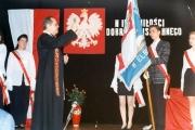 sztandar IV Liceum Ogólnokształcącego
